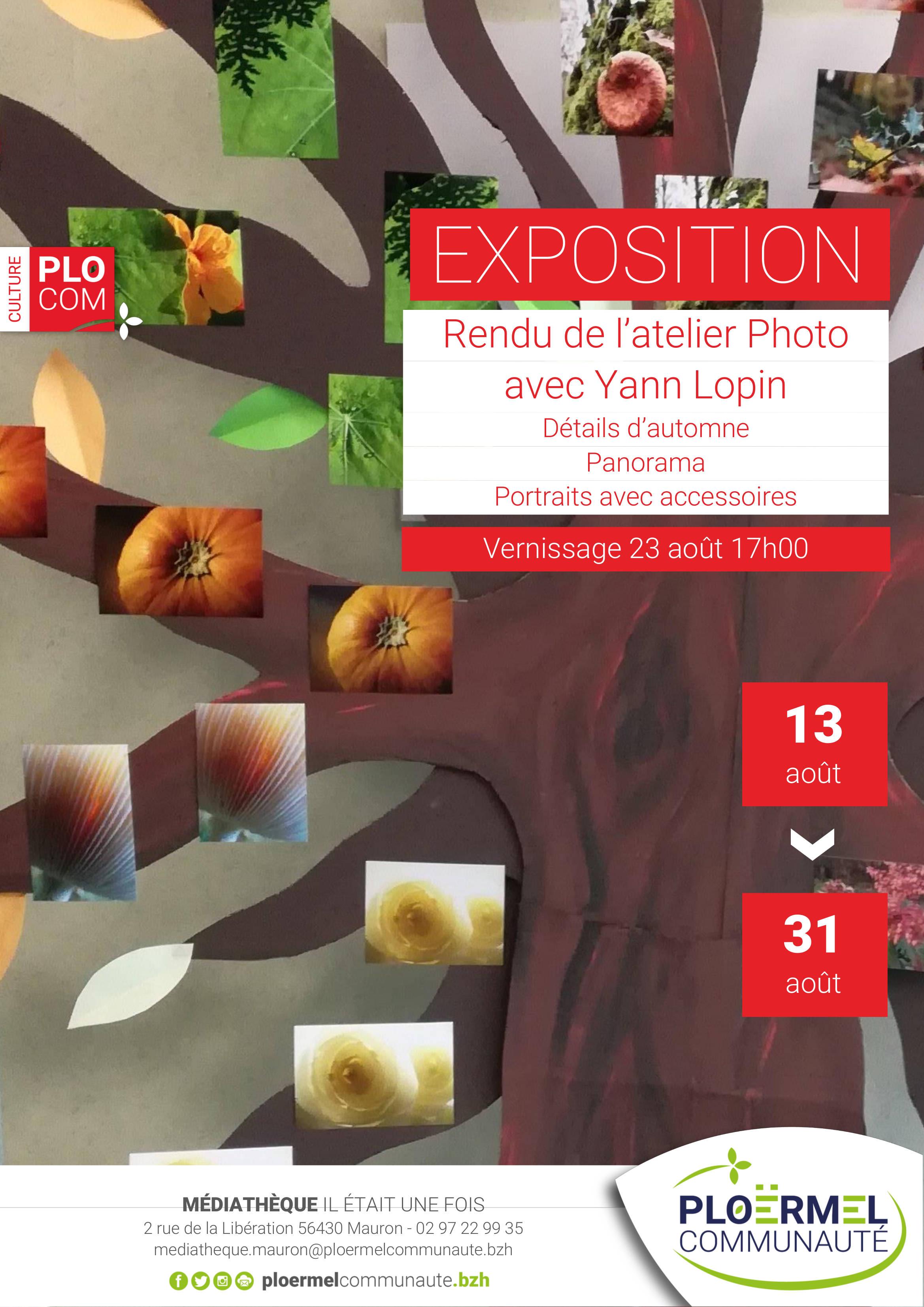 Exposition «Chemins photographiques» saison 2017-2018