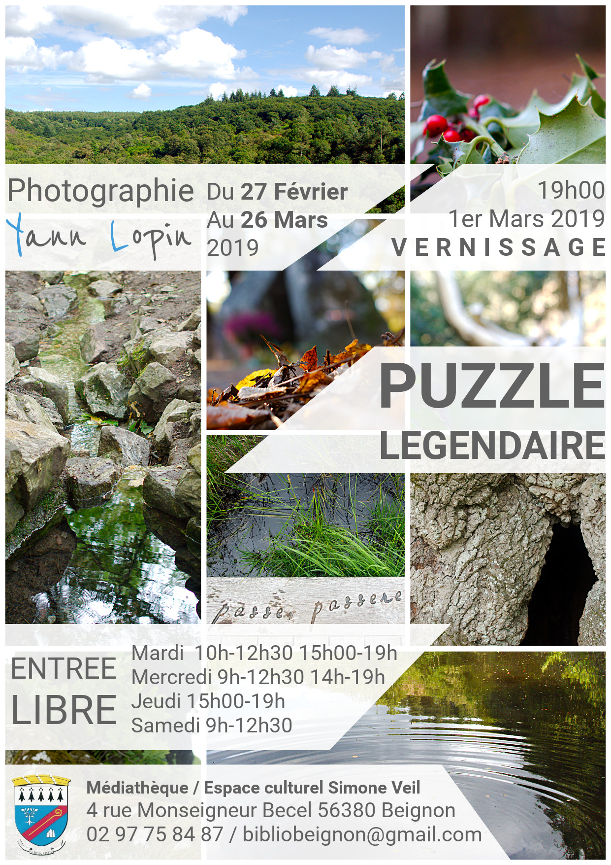 Puzzle Légendaire à Beignon